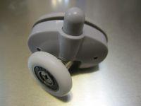 Ролик одинарный нижний с кнопкой (004)
