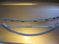 Декоративные вкладки на душевую панель кабины